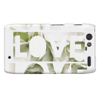 Amor del amor del amor droid RAZR carcasas