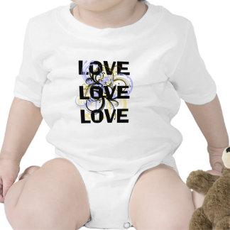 Amor del amor del amor traje de bebé