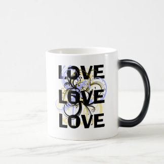 Amor del amor del amor taza mágica