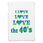 Amor del amor los años 40 iPad mini funda