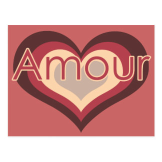 Amor del amorío para el día de San Valentín Tarjeta Postal