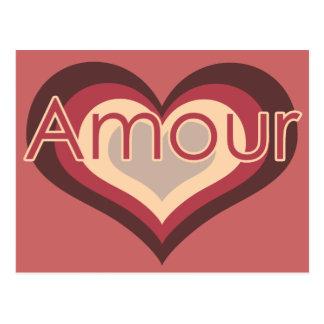 Amor del amorío para el día de San Valentín Tarjetas Postales
