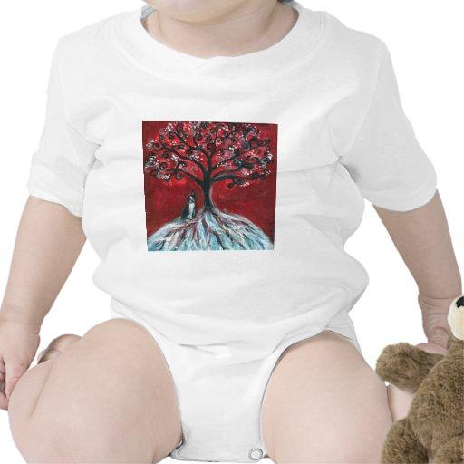 Amor del árbol de Boston Terrier Camiseta