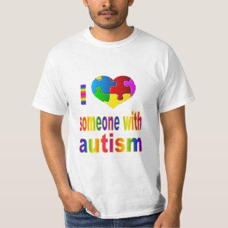 Amor del arco iris I alguien camiseta Poleras
