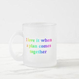 Amor del arco iris I él taza
