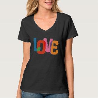 Amor del arco iris playera