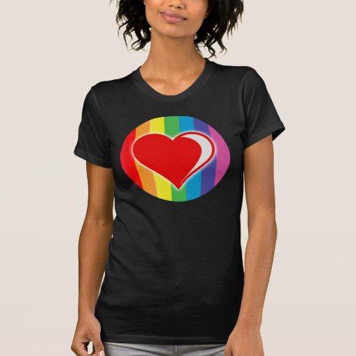 amor del arco iris playeras