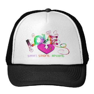 Amor del autismo gorra