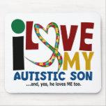 Amor del AUTISMO I mi hijo autístico 2 Tapete De Ratón