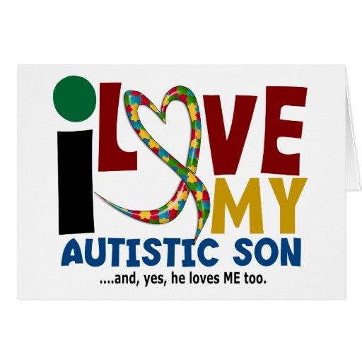 Amor del AUTISMO I mi hijo autístico 2 Felicitacion