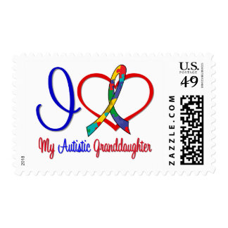 Amor del autismo I mi nieta autística Franqueo
