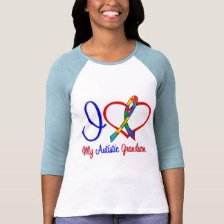 Amor del autismo I mi nieto autístico Camisetas
