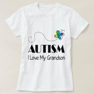 Amor del autismo I mi nieto Playera