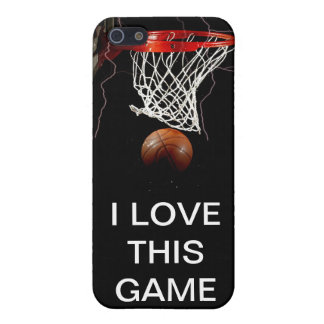 Amor del baloncesto I este juego Iphone 4 pieles iPhone 5 Fundas