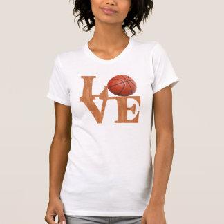 Amor del baloncesto camisetas