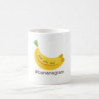 Amor del #bananagram usted taza del papá