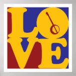 Amor del banjo poster