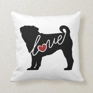 Amor del barro amasado almohadas