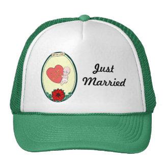 Amor del bebé gorras