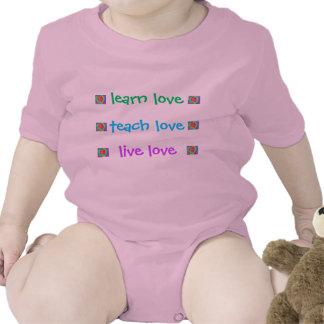 Amor del bebé traje de bebé