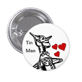 Amor del botón del hombre de la lata el gran mago  pins