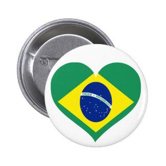 Amor del Brasil Pin