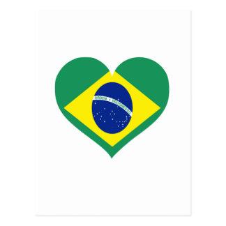 Amor del Brasil Tarjetas Postales