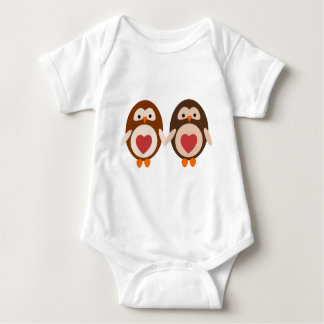 Amor del búho body para bebé