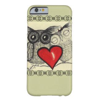 Amor del búho - funda de iPhone 6 barely there
