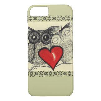Amor del búho - funda iPhone 7