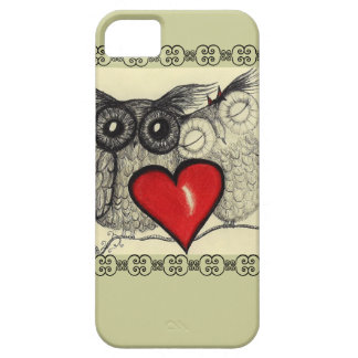 Amor del búho - funda para iPhone SE/5/5s
