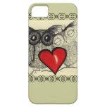 Amor del búho - iPhone 5 cárcasas