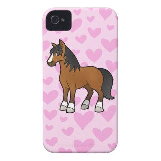 Amor del caballo Case-Mate iPhone 4 carcasas