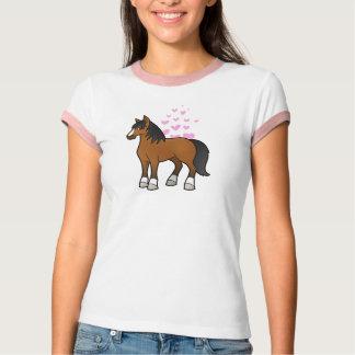 Amor del caballo playeras