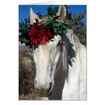Amor del caballo tarjeton