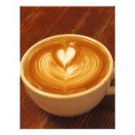 Amor del café membrete