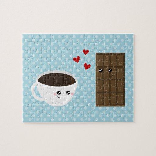 Amor del café y del chocolate puzzle