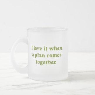 Amor del camuflaje I él taza