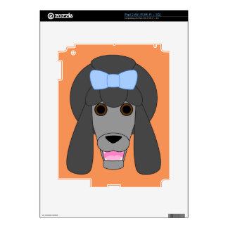 Amor del caniche calcomanía para iPad 2