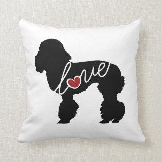 Amor del caniche almohadas