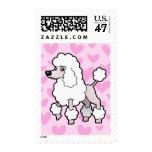 Amor del caniche (demostración cortada) sellos