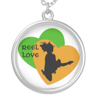 Amor del carrete - danza del irlandés - corazones  colgantes personalizados