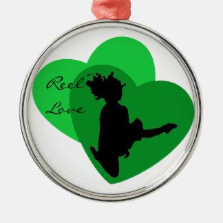 Amor del carrete - danza del irlandés ornaments para arbol de navidad