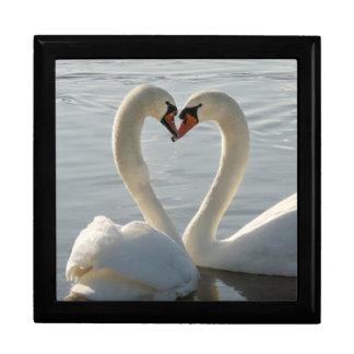 Amor del cisne cajas de recuerdo