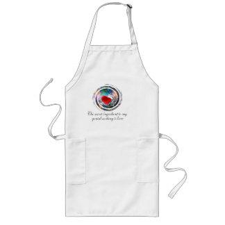 amor del cocinero delantal largo