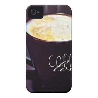 amor del cofee carcasa para iPhone 4