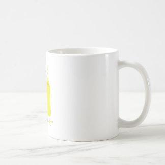 Amor del condimento taza básica blanca