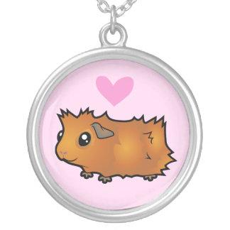 Amor del conejillo de Indias (desaliñado) Joyeria Personalizada