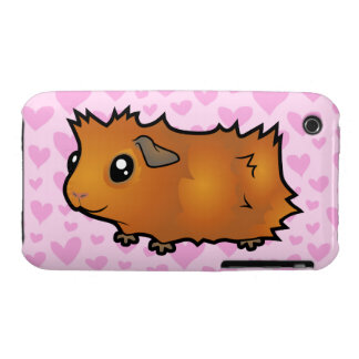 Amor del conejillo de Indias (desaliñado) iPhone 3 Cobreturas