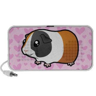 Amor del conejillo de Indias (liso) (añada su mode Mini Altavoces